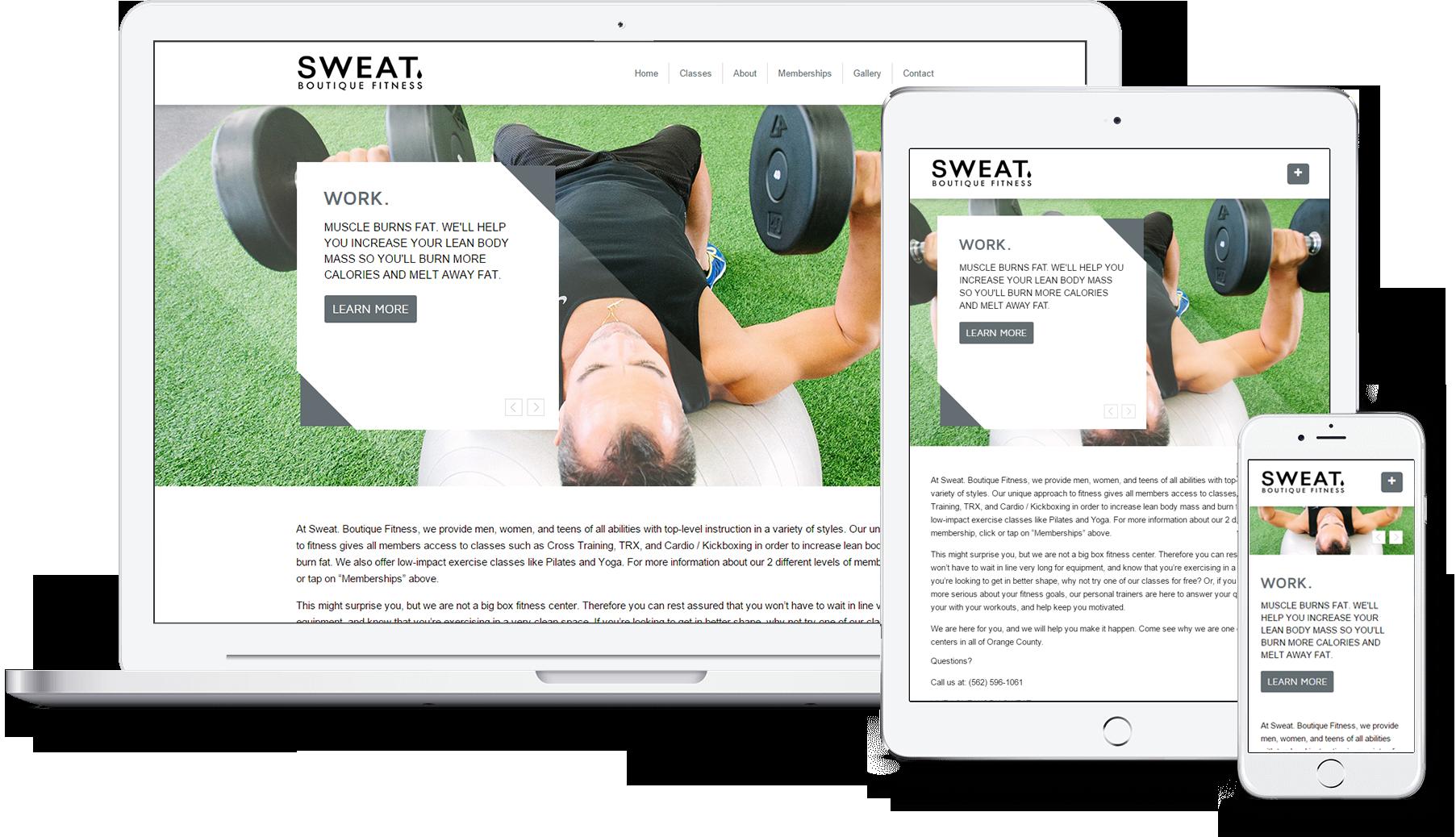 sweat-responsive